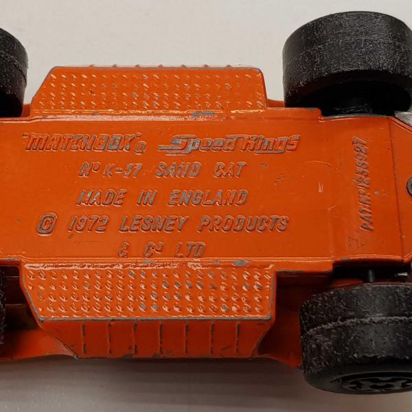 Matchbox Speed Kings K-37 DUNE BUGGY