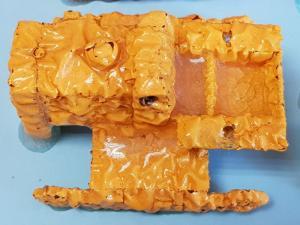 Matchbox Kingsize K-8 Caterpillar Traxcavator