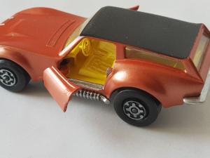 Matchbox Super Kings K-55 Corvette Caper Cart
