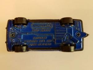 Matchbox Superfast - FORD ESCORT XR3i CABRIOLET