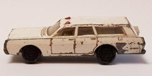 Matchbox Superfast - MERCURY POLICE CAR N´55