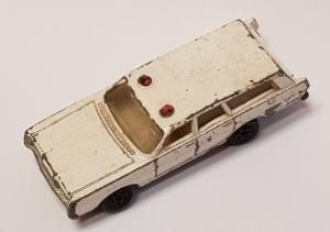 Matchbox Superfast - MERCURY POLICE CAR N´55