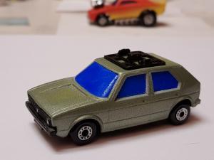 Matchbox SuperFast - VW GOLF I. N´ 7
